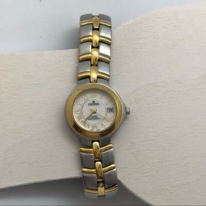 Croton Women's Two Tone Stainless Steel Watch